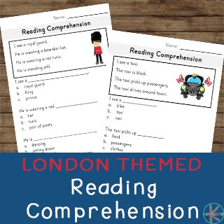 fun kindergarten reading comprehension activity