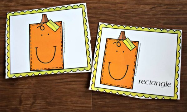 Printable Pumpkin Game for early learners