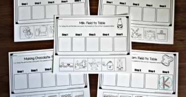 fun science sequencing activities for kindergarten, first grade, 2nd grade, and 3rd grade kids