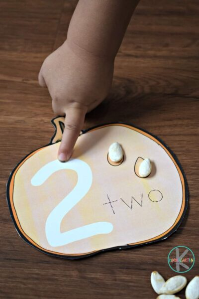 fun way for preschool, prek, and kindergarten age kids to practice how to count to 10 or count to 15