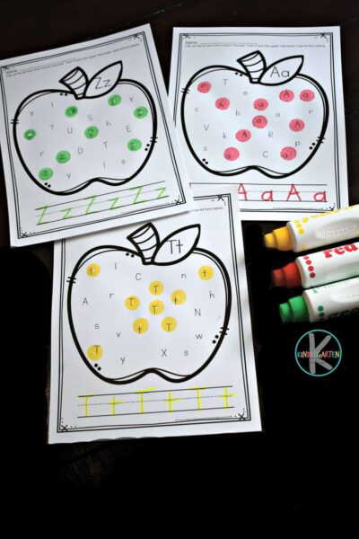 super cute, free printable i spy letters activity for young kids