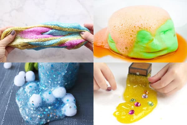 fun ideas for slime recipes for letter u v w x