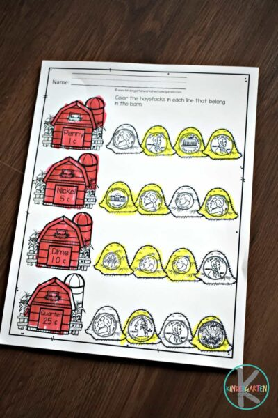 free printable money worksheets to help kids learning about money