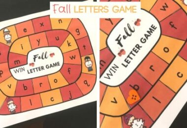 fall alphabet