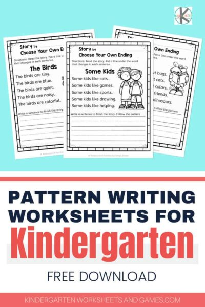 Looking for some fun ways to encourage your students as they begin to write? Our FREE pattern writing is a fun way to help Kindergarten students begin writing. Use this writing activities for kindergarten and first grade to make writing fun with homeschool children or for classroom use. Download pdf file with kindergarten pattern writing and you are ready for a no prep writing activity for kindergartners any time!