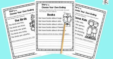 kindergarten creative writing prompts