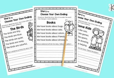 kindergarten creative writing prompts