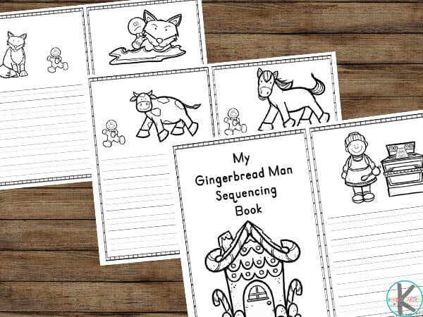Gingerbread Man Worksheets