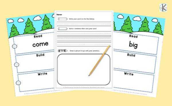Read Build and Write mats horizontal 2