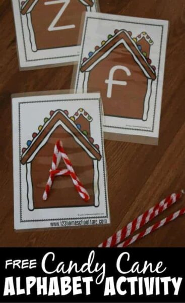 Gingerbread aLPHABET Activity