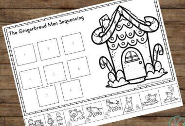 Gingerbread Man Printable