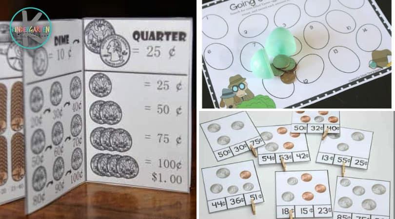 30 Kindergarten Money Activities