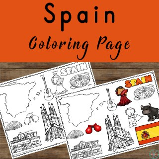 Spanish Coloring SHeets