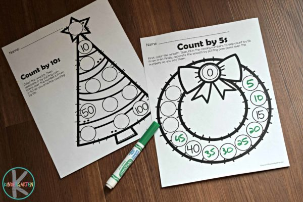 christmas-skip-counting-worksheets