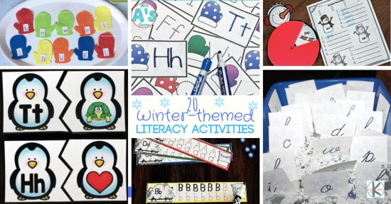 Winter Alphabet Activities