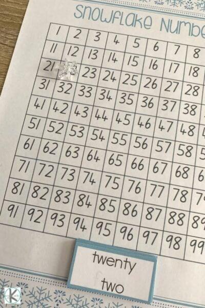 Hundreds Chart Printable