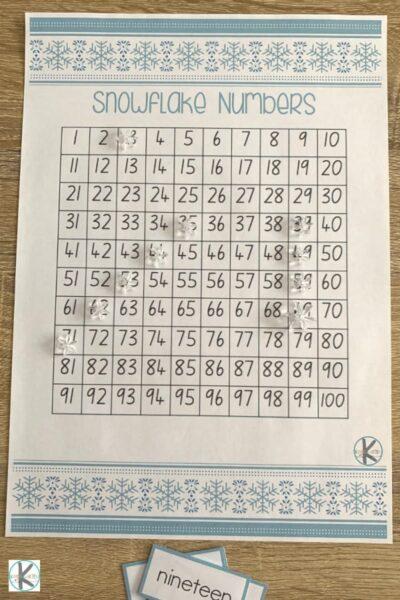 Hundres Chart Game