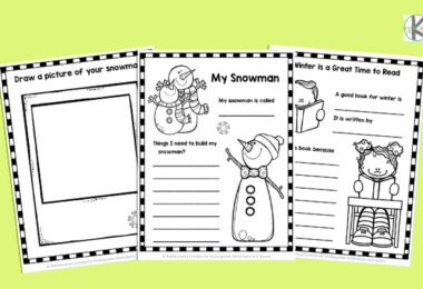 free winter worksheets