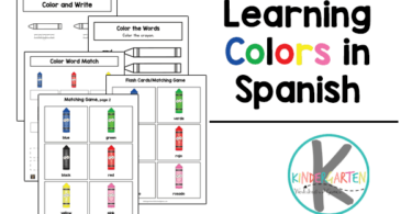 Spanish Color Words