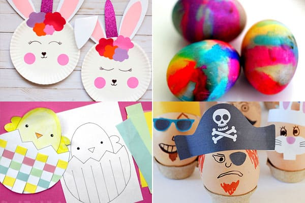 so many fun clever easter activites and easter crafts for a fun april