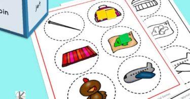 cvc word games to help kindergartners practice rhyming and word families