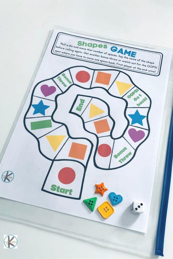 Shape Games for Kids