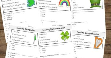 free printable st patricks day worksheets for celebrating saint patricks day in march with kindergartners and 1st graders