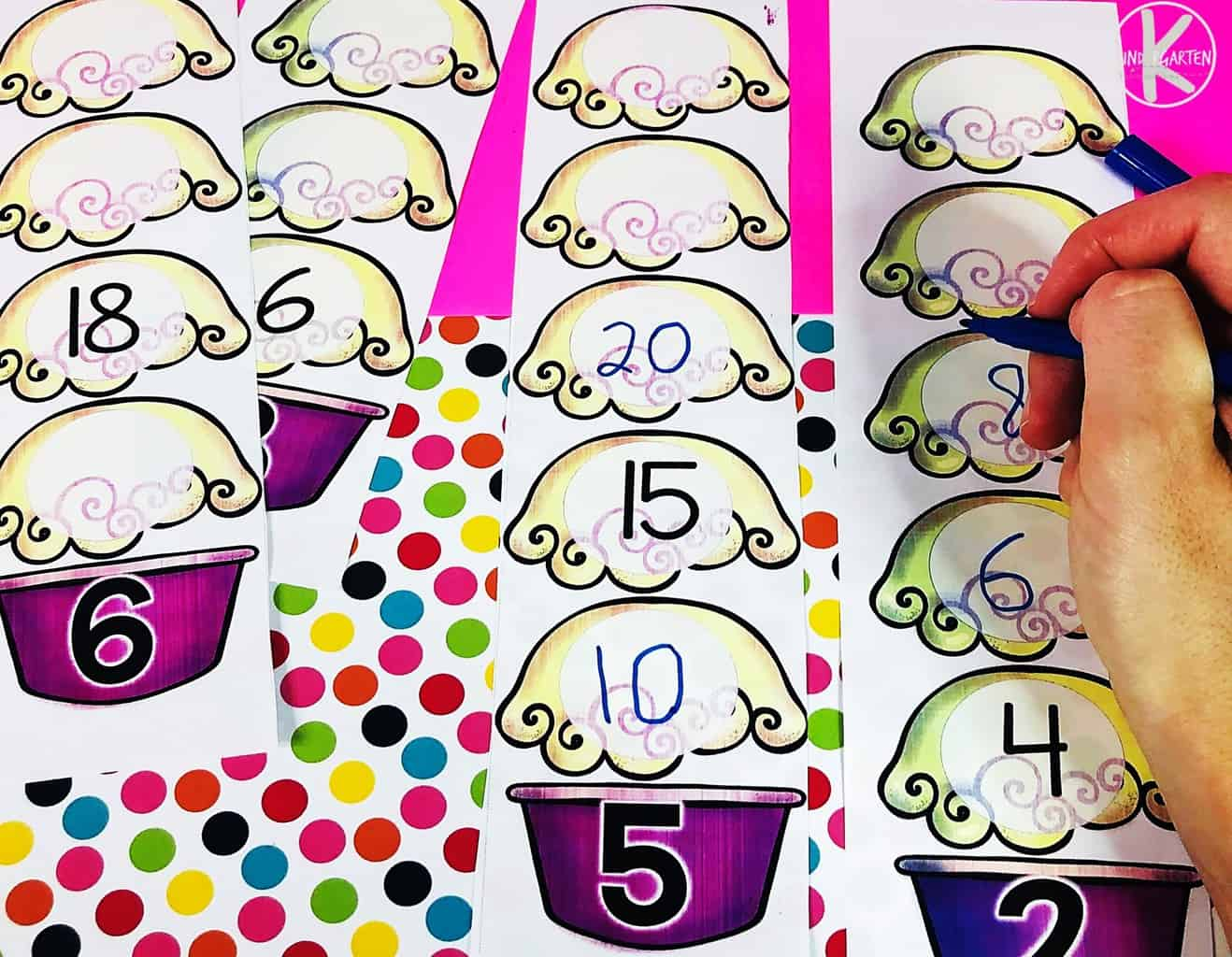 practice skip counting by 2,5 & 6 with this fun, free printable skip counting activity for kindergarten, 1st grade, and 2nd grade students
