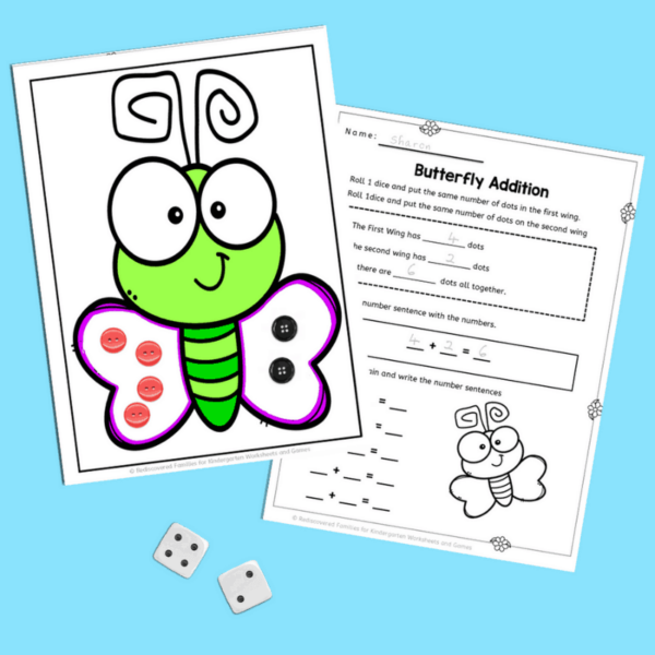 addition and subtraction activities for kindergarteners, pre k, and first grade