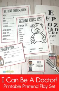 FREE Doctor Pretend Play