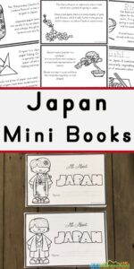Japan for Kids Printable BOok