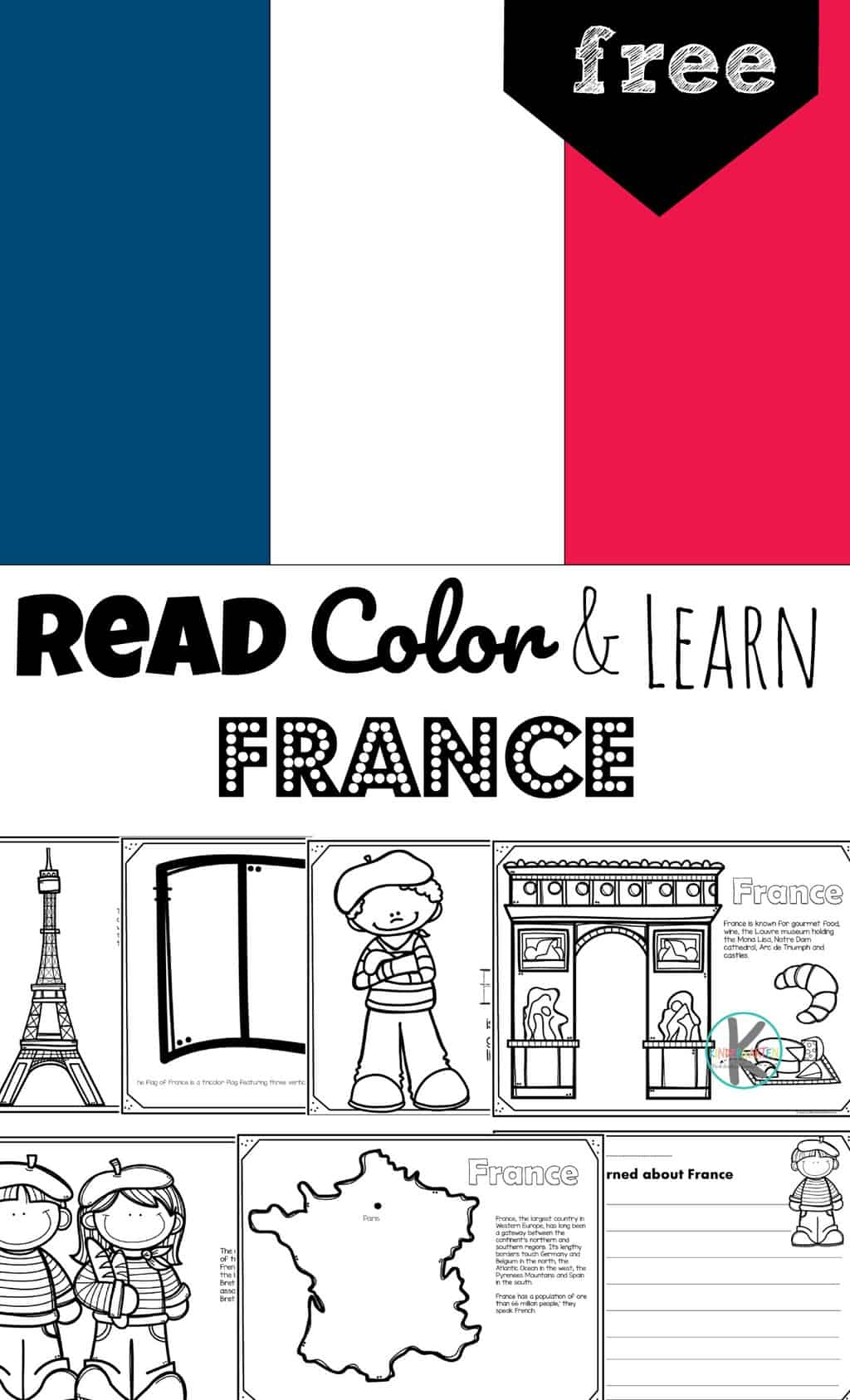 Free France Coloring Pages To Read Color And Learn