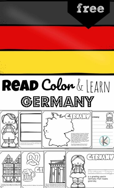 Children will have fun learning about Germany for Kids and its culture with these germany coloring pages. This pack of free printable germany coloring page are perfect for preschool, pre k, kindergarten, first grade, 2nd grade, 3rd grade, 4th grade, and 5th grade kids. Simiply download pdf file withgerman coloring pages and you are ready to play and learn about this fascinating Europeon country.