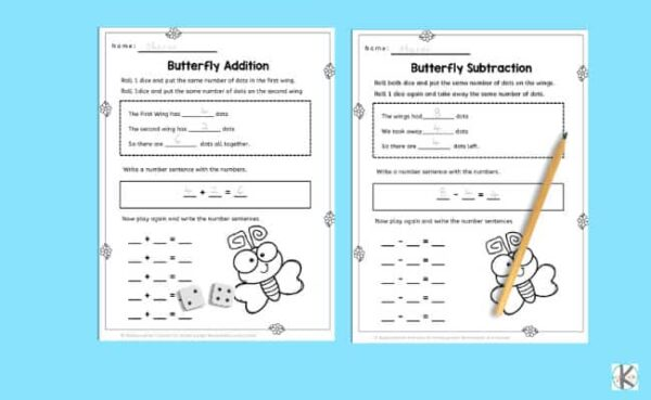 free printable kindergarten math worksheets perfect for spring and summer
