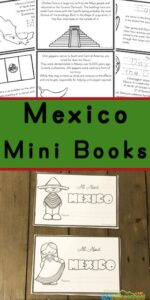 Mexico for Kids Printable Book