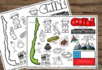 this easy, no prep activity is a great introduction to the country Chile for Kids