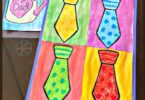 Kindergartners will have fun learning about famous artist Andy Warhol and his unique style of artwork with this fun to make, stunning, and EASY Fathers Day Crafts for Kindergarten.