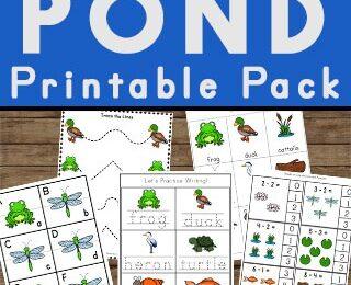 Pond Printable Pack