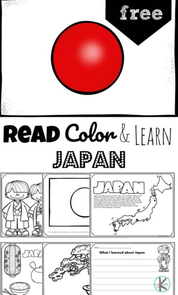 Free Japan Coloring Pages Read Color And Learn