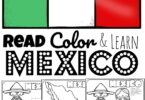 Join in the fiesta as you learn about the country famous for tacos & burritos, large sombreros & historic pyramid of Chichén Itzá with these free printable Mexico Coloring Pages for toddler, preschool, pre k, kindergarten, first grade, 2nd grade, 3rd grade, 4th grade, and 5th grade kids.