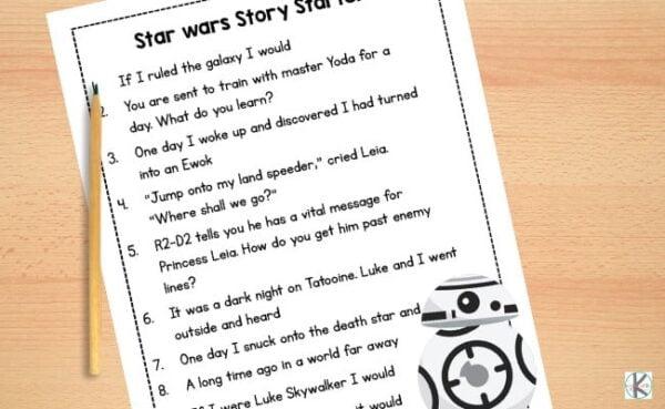 star wars worksheets