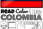 Head along the Amazon River into the South American Rainforest to learn about the beautiful country of Columbia with these free printable Columbia Coloring Pages for preschool, pre k, kindergarten, first grade, 2nd grade, 3rd grade, 4th grade, and 5th grade kids.