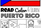 Puerto Rico you lovely island.....children will be fascinated to learn about the rich history, beautiful wildlife, and the cool fort as they explore this Caribbean Island with these free printable Puerto Rico Coloring Pages for toddlers, preschoolers, kindergarteners, first graders, 2nd graders, and 3rd graders.