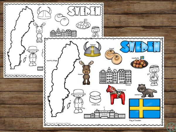 Learn about the flag, customs, famous buildings, people, geography, food and more with this Sweden Country Information for elementary age kids