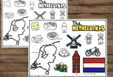 Discover facts about The Netherlands for Kids - from tulip fields to windmills, cheese, bicicles, van gogh museum, country flag, lovely canals in Amsterdam, and so much more!