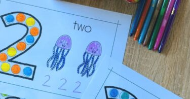 free kindergarten worksheets to practice counting to 10