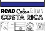 What do you know about the lovely Central American country of Costa Rica? Did you know they are famous for coffee, bananas, ox and cart and more! These free printable Costa Rica Coloring Pages are a fun way to learn about Costa Rica. These country coloring pages are a great geography resource for for preschool, pre k, kindergarten, first grade, 2nd grade, 3rd grade, 4th grade, and 5th grade kids.