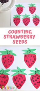 strawberry counting activity