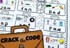 Crack the Code Worksheets for Kids