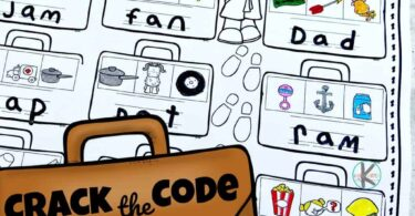 Crack the Code Worksheets for Kids